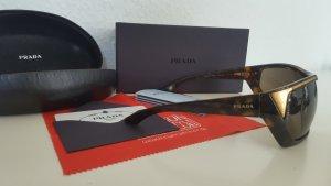 PRADA Sonnenbrille gold / schwarz