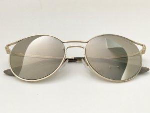 Prada Ovale zonnebril veelkleurig Metaal
