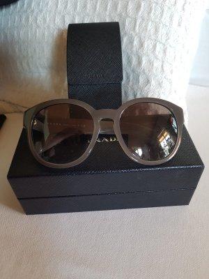 Prada Sonnenbrille grau mit Etui und Box