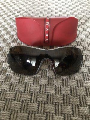 Prada Sonnenbrille Herren braun polarisiert mit Etui