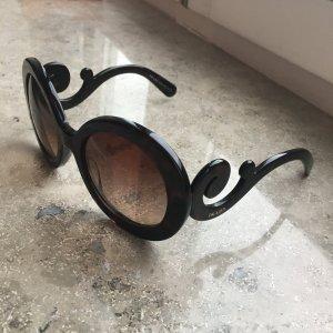 Prada Sonnenbrille in Braun/Schwarz