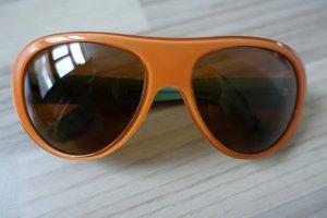 PRADA Sonnenbrille, in coolen 70er-Jahre Farben: orange und mint-grün, mit Prada Aufbewahrungsbox !!