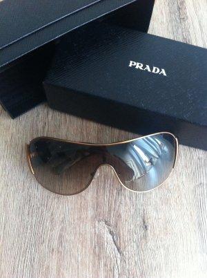 """Prada Sonnenbrille """"Original"""" in braun-tiger mit gold-bronze Rand,kaum getragen"""