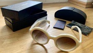 PRADA Sonnenbrille (weiß)