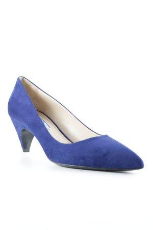 Prada Spitz-Pumps blau Elegant