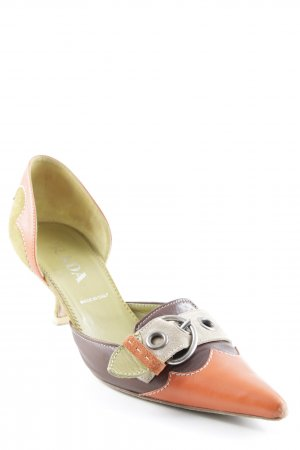 Prada Pointed Toe Pumps multicolored extravagant style