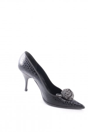 Prada Spitz-Pumps schwarz Eleganz-Look