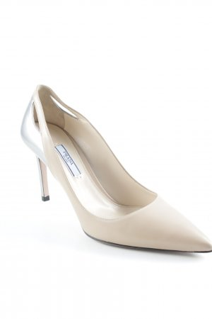 "Prada Pointed Toe Pumps ""VIT.LUX+Metal"""