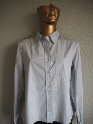 Prada Sport Bluse Hellblau Gr. 36 Business Look