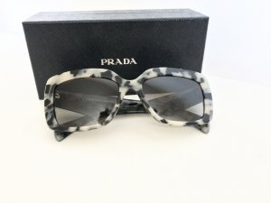 PRADA SPR 03Q Sonnenbrille white Havana grey Acetate Designer