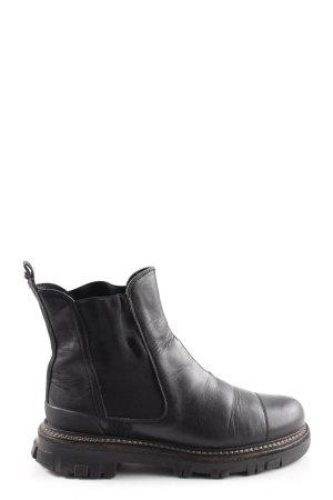 Prada Combat Boots black casual look