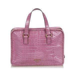 Prada Handbag pink leather