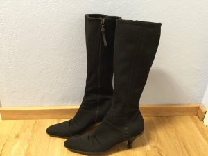 Prada Winter Boots black textile fiber