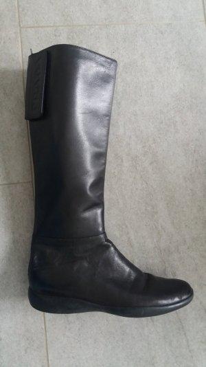 PRADA Stiefel, Gr. 39, schwarz