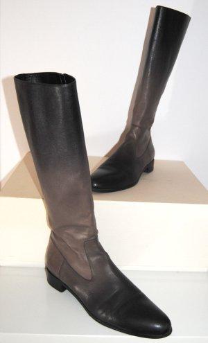 Prada Jackboots black-grey brown