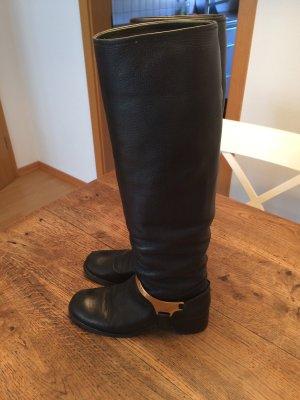 Prada Stiefel schwarz