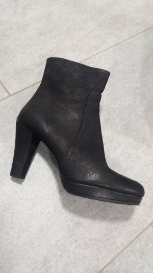 Prada Booties black leather