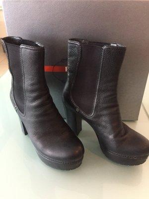 Prada Platform Booties black
