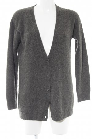Prada Strick Cardigan anthrazit Kuschel-Optik