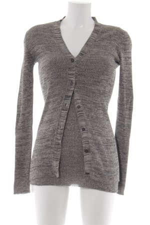 Prada Knitted Twin Set grey-light grey flecked casual look