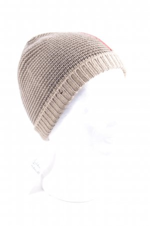 Prada Knitted Hat light brown casual look