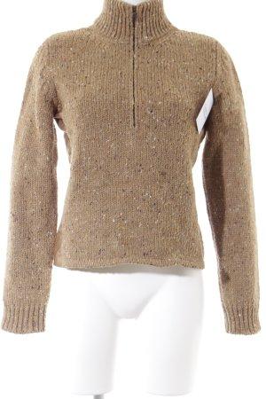 Prada Gebreide trui gestippeld simpele stijl
