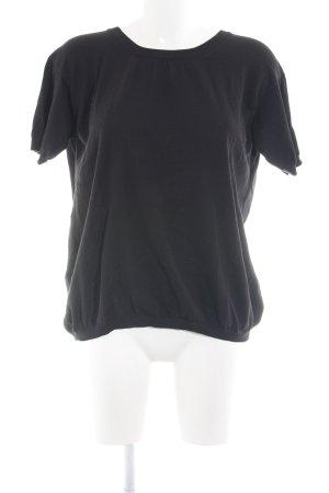 Prada Strickshirt anthrazit Elegant