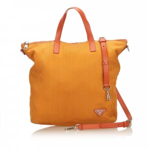 Prada Sacoche orange coton