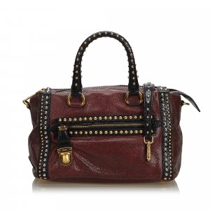Prada Satchel bordeaux leather