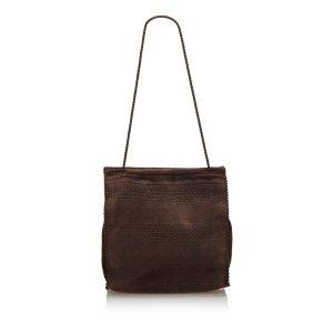 Prada Suede Tote Bag
