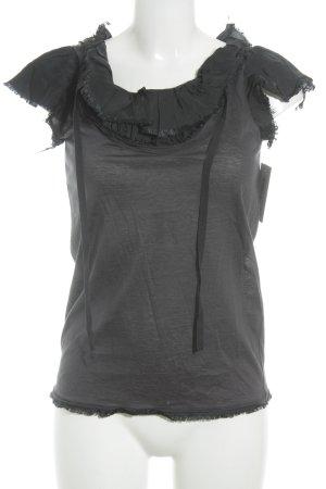 Prada T-Shirt dunkelblau Casual-Look