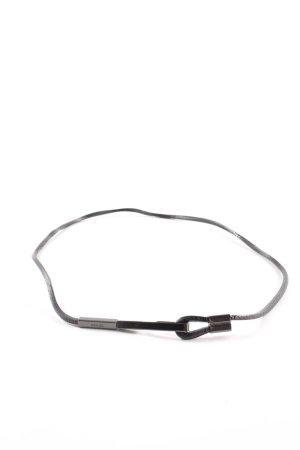 Prada Cinturón pélvico negro estilo «business»