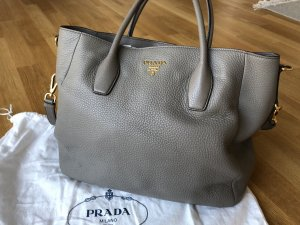 Prada Handbag silver-colored