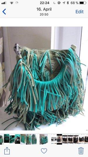 Prada  Tasche grün mit Zsrtifikat