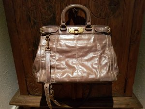 Prada Crossbody bag beige leather
