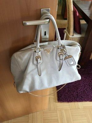 Prada Tasche Leder weiß , Original mit Staubbeutel!