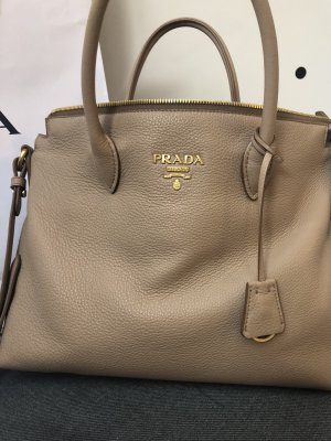Prada Borsa color cammello Pelle
