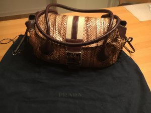 Prada Tasche Original Brown / Cognac