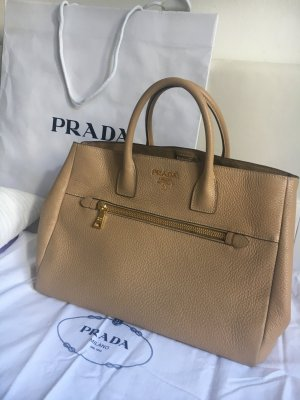 Prada Carry Bag beige-camel
