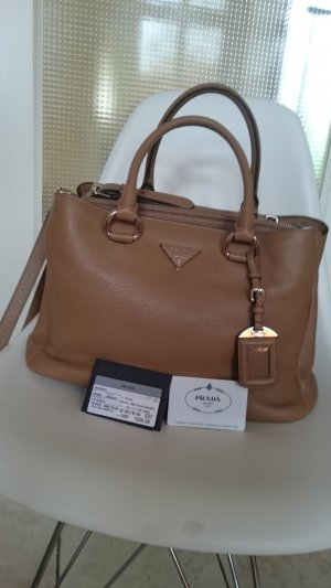 Prada Carry Bag camel leather