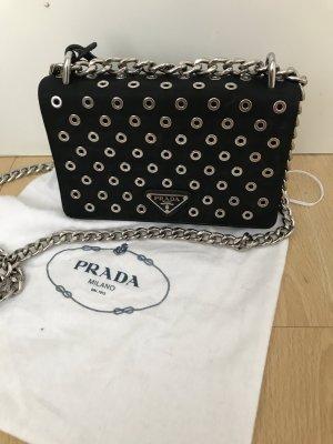 Prada Mini sac noir-argenté