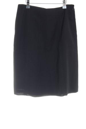 Prada Falda circular negro estilo «business»