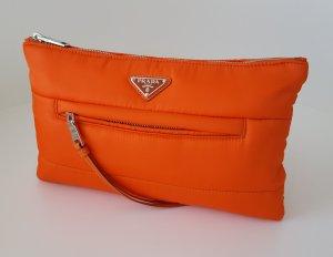 Prada Borsa clutch arancione