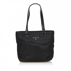 Prada Tessuto City Shoulder Bag