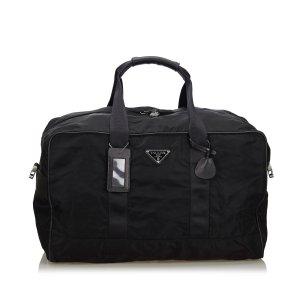 Prada Tessuto Nylon Duffle Bag