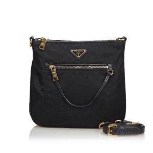 Prada Tessuto Nylon Shoulder Bag