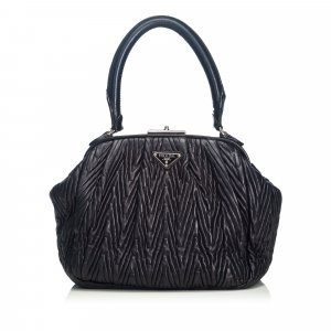 Prada Textured Leather Handbag