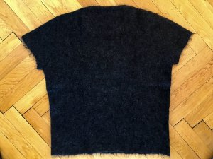 Prada Knitted Top black mohair