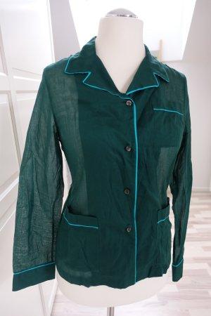 PRADA Top/Bluse/Hemd, aus super zarter Baumwolle, im Pyjama Stil, ital. 44 od. EUR 40