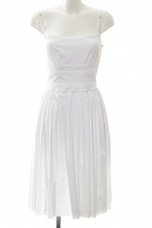Prada Trägerkleid weiß Beach-Look